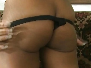 Spoiled african slut enjoys a steamy foursome with her american bosses