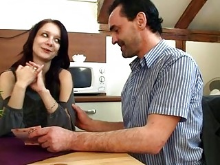 Old teacher is ravishing sweet babes fur pie