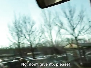 Three babes hitchhike and get pounded